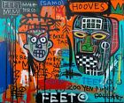 +Rare+Jean+Michel+Basquiat+Original++Vintage+Painting+%E2%80%9CGallery+Red%E2%80%9D