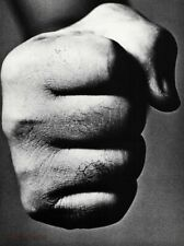 1964 Joe Louis Boxer By RICHARD AVEDON Heavyweight Champion Fist Photo Art 16x20