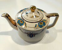 Sadler England Teapot - Gold Trim with Cherub Theme