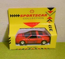 DIE CAST SCALE MODEL SHELL CLASSIC SPORTS CAR COLLECTION FERRARI 348ts