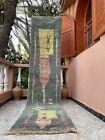 "Boujad Moroccan Handmade Vintage Runner 2'3""x10'3"" Geometric Colorful Rug"
