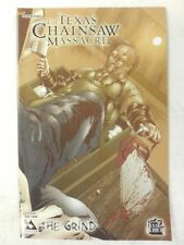 LEATHERFACE Wrap-Around VARIANT Cover TEXAS CHAINSAW MASSACRE Comic The GRIND #1