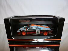 MINICHAMPS McLAREN BMW - 24h LE MANS GULF - BLUE 1:43 - GOOD CONDITION IN BOX