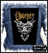 USURPER - Backpatch Back Patch / Witchery Abscess Old Funeral Morbid Saint