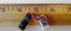 Bachmann 44915 EZ Command  DCC 1 amp Decoder w/Short 8-pin Harness