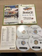 Bundle Fable II + Banjo Kazooie + Halo3 + Gears of War 2 Xbox 360