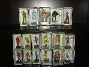 The Classic Marvel Figurines Collection 17 Boxed Figurines Bundle No Magazines