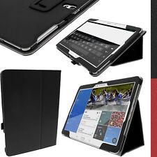 """Nero Eco Pelle Custodia Folio per Samsung Galaxy Tab S 10.5"""" SM-T800 T805 Cover"""