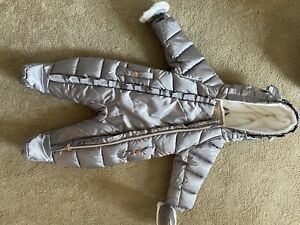 Baby girl Ted Baker snowsuit 3-6 immaculate condition