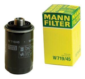 MANN Oil FIlter W719/45 AUDI/VW 2.0L Turbo Engine 2008-2017 see fitment below