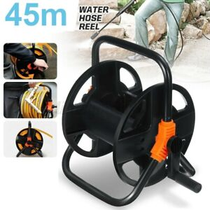 45M Portable Wall Mounted Hose Reel Free Standing Garden Water Pipe Rust Proof