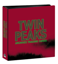2019 Twin Peaks Archives Trading Cards OFFICIAL ALBUM BINDER & P1 - Rittenhouse
