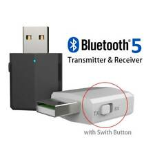 Audio Transmitter Receiver USB Adapter Bluetooth 5.0  for TV PC Car AUX Speaker
