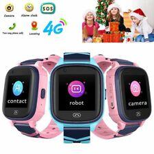 Children Kids Watch 4G 3G Phone Wristwatch SOS Video Call GPS LBS Wifi Tracker