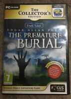 Pc Game - The Collectors Edition -  Edgar Allan Poe's The Premature Burial