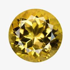 6mm Rund Facettiert Natürlich Brasilianischer Goldener Citrin Edelstein