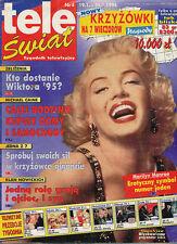 TELE SWIAT 96/04 (19/1/96) MARILYN MONROE ELLEN BARKIN