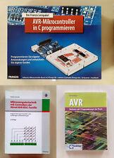 AVR-Mikrocontroller in C programmieren (Elektronik Lernpaket) + 2 Fachbücher