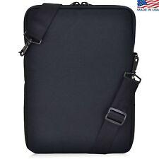"Turtleback Padded Sleeve Laptop Slip Case Strap Black Interior for 13"" Macbook"