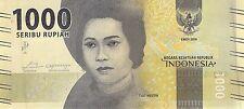 Indonesia 1000 Rupiah 2016 Unc Pn 154a