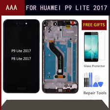 LCD Display Touch Screen Digitizer+Frame+Tool For Huawei P8 Lite /P9 Lite 2017