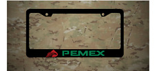 Pemex Mexico Gas Station Plastic License Frame Holder Vinyl Decal