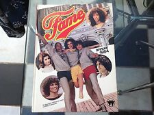 VINTAGE ORIGINAL FAME TV SHOW SING DANCE ANNUAL BOOK 1984