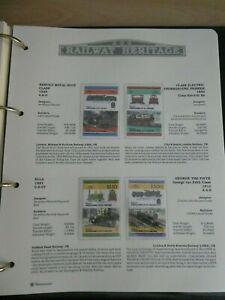 RAILWAY HERITAGE 1983 MINT STAMPS  GRENADINES OF ST VINCENT 75C $1 $2.5 $3