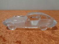 Coche de Cristal/Pisapapeles - Jaguar E-Type