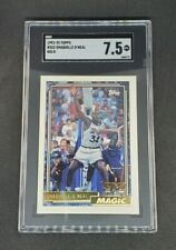 New listing Shaquille O'Neal 1992-93 Topps Gold Rookie Card #362 SGC 7.5 Shaq