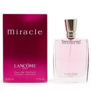 LANCOME MIRACLE WOMEN * 1.6/1.7 oz (50 ml) EDP Spray * NEW & SEALED