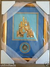 Disney D23 Expo 2015 Castle Mystery Pin Set Frame and Completer Pin LE 100