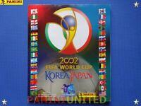 Panini★WM 2002 WorldCup 02 KOREA JAPAN WC 02★ ALBUM komplett/complete ★★★★★