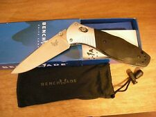 Benchmade 581 Barrage Assisted Open Axis Lock Carbon Steel Fine Edge