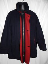 ARI Soho Vintage Boston Wool Chasmere Coat quilted lining Made in Italy Men's L