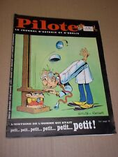 """PILOTE no 482"" (1969) ASTERIX / PILOTORAMA - H. M. S. VICTORY / GOTLIB - REISER"