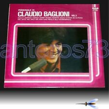"""CLAUDIO BAGLIONI """"PERSONALE DI VOL.3"""" RARO LP LINEATRE - SIGILLATO"""