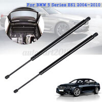 Rear Bonnet Gas Tailgate Boot Struts For BMW 5 Series E61 Touring Estate