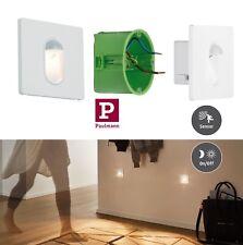 Paulmann LED Wandeinbauleuchte eckig 2,7Watt mit Bewegungssensor 2700K UVP29,95€