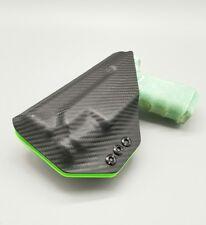 Sig p226 w/ X300U Light Black Carbon Fiber & Green Kydex IWB Holster Veteran USA