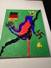 """Expressionismus POP Art Kunst Gemälde: """"Democracy"""" Artist: FISH"""
