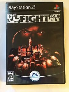 Def Jam Fight for NY - Playstation 2 - Replacement Case - No Game