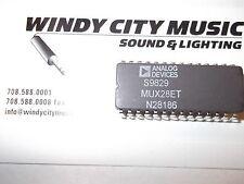 MUX28ET PMI 16-CHANNEL ANALOG MULTIPLEXER Vintage 1983+ 28-PIN CERDIP MUX28-ET