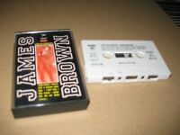 James Brown Spanish Cassette Live IN Concert