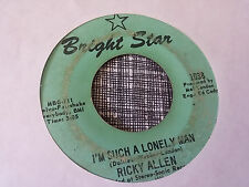 Ricky Allen 45 You Better Be Sure/I'm Such a Lonely Man R&B Funk Northern Soul