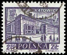 Scott # 963 - 1960 - ' Katowice ', Historic Towns