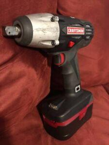 Craftsman C3 1/2 Impact Wrench + 6-Ah Battery
