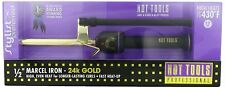 "HOT TOOLS 1/2"" Marcel Gold Curling Iron 24K Multi Heat Control #HT1107"