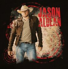 JASON ALDEAN COUNTRY MUSIC CONCERT BLACK T SHIRT TEE TSHIRT ADULT XL NEW