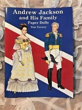 ANDREW JACKSON and His Family Paper Dolls Book~UNCUT~Tom Tierney~2001~NEW!!